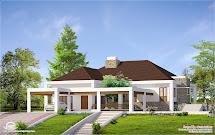 Kerala Single Story House Plans