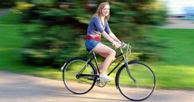 άσκηση με ποδήλατο