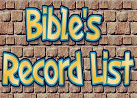 Rekor dlm Alkitab