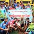 कुमरडीह की धरा का हुआ हरित श्रृंगार, साईकिल यात्रा की टीम ने किया पौधरोपण