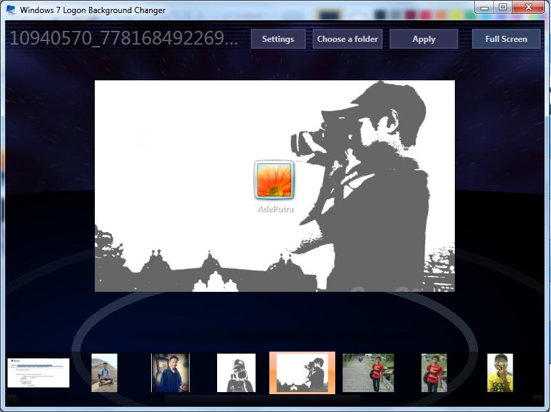 Download Win7 Logon Background Changer Gratis,free,