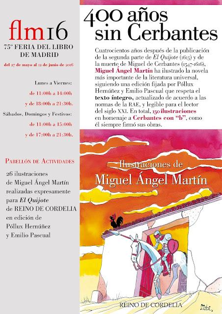 Exposicion Quijote Miguel Angel Martin Feria Libro Madrid