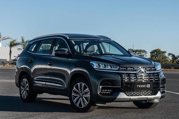 CAOA CHERY vende 2.301 veículos em janeiro de 2021