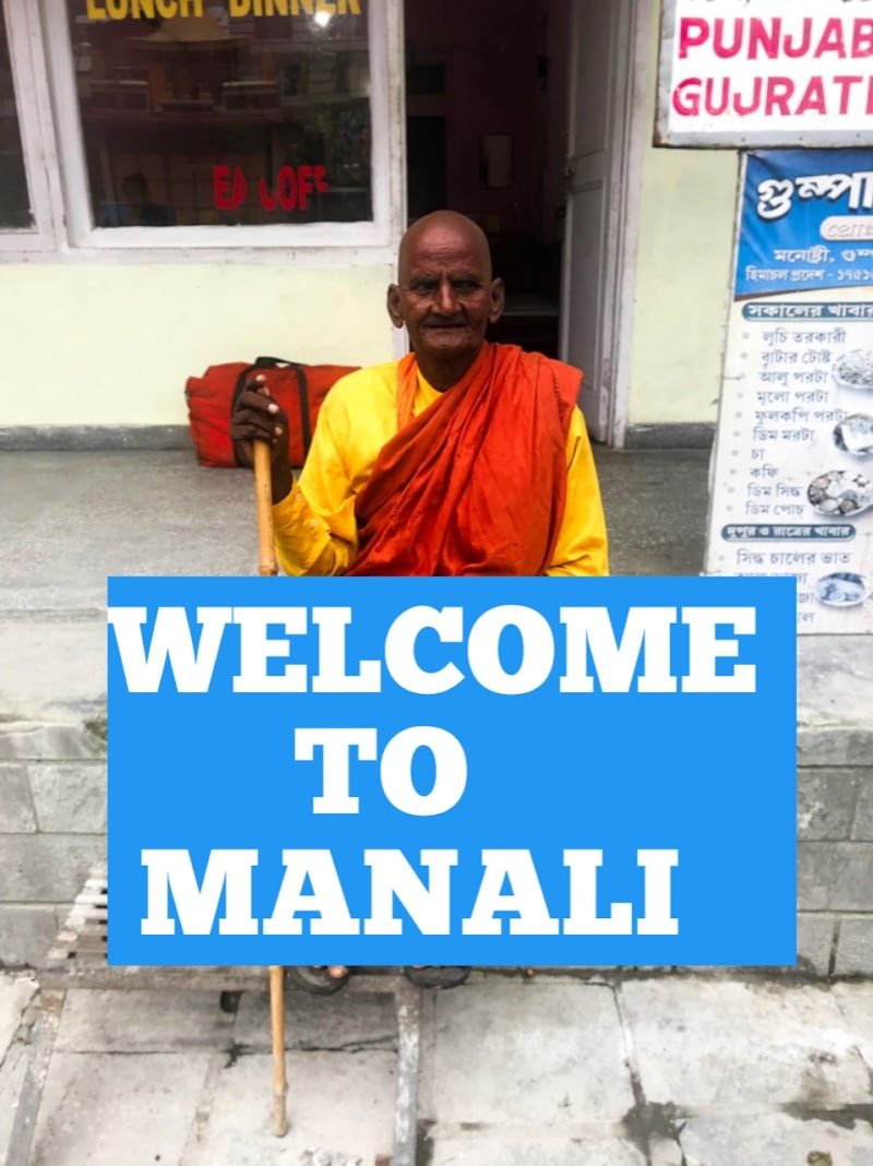 Tourist places in Manali 2019, Best side scene in Manali.