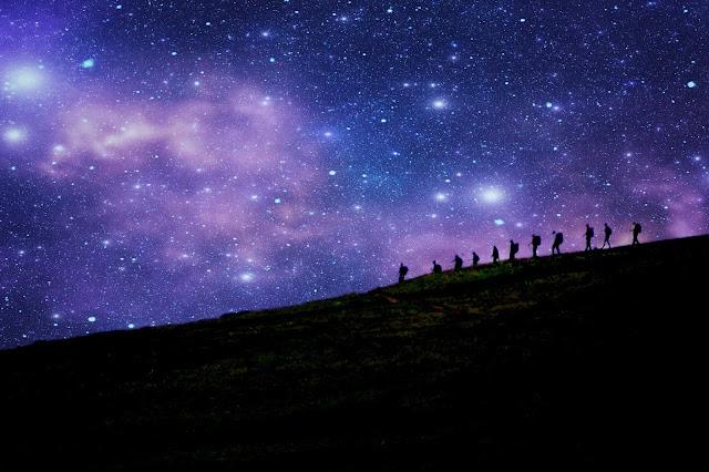 星空の壁紙