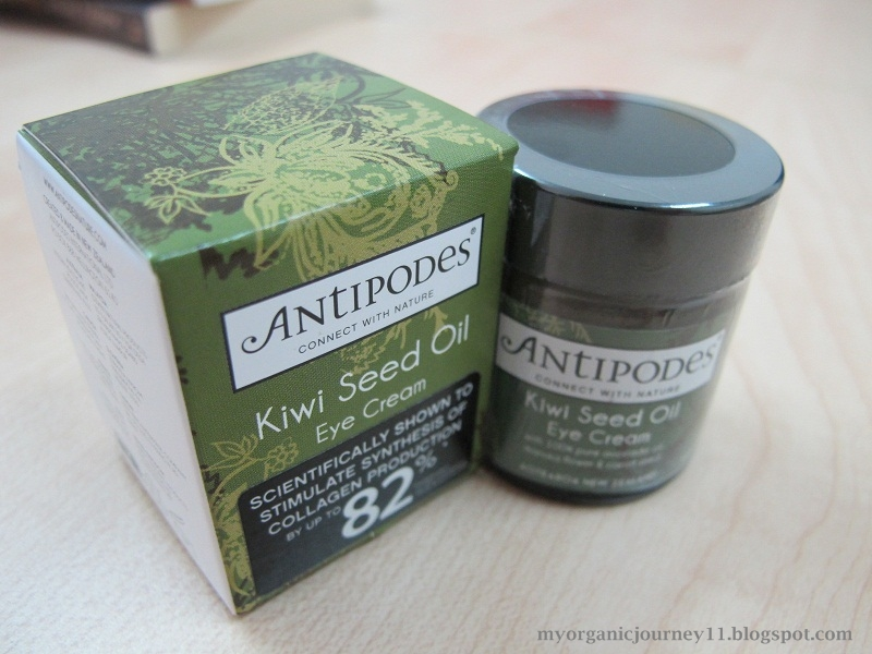 My Organic Journey: Review: Antipodes Kiwi Seed Oil Eye Cream