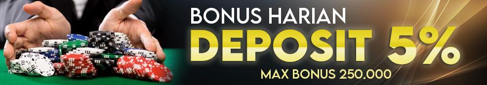 Saga Poker Promo BOnus Deposit