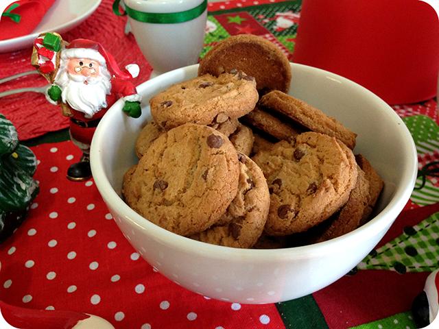 Decoração Café da Manhã Natalino - Cookies Bauducco