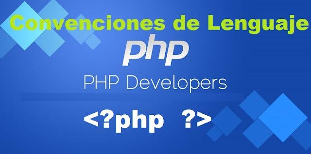 convenciones-del-lenguaje-php