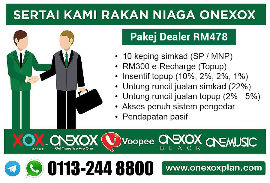 Pakej Pengedar ONEXOX