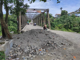 Gubsu Edy Respon Cepat, Jembatan Tuntungan yang Viral Karena Dugaan Pungli Segera Diperbaiki