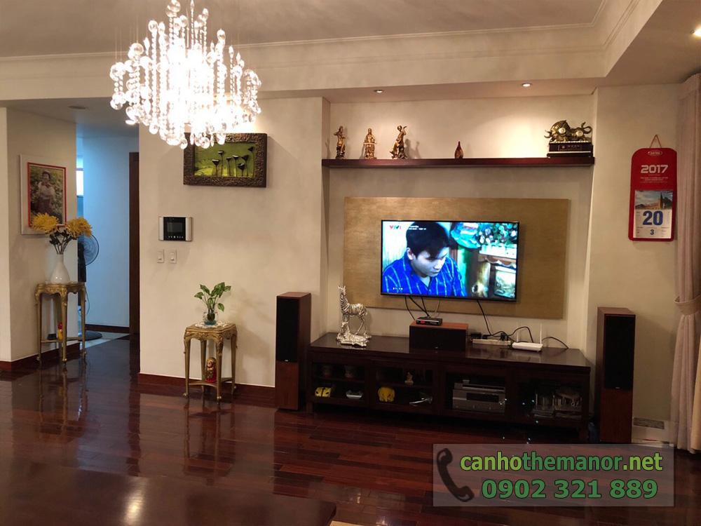 BÁN căn hộ 3PN, 157m2 nội thất siêu đẹp tại The Manor 1 HCM - hình 3