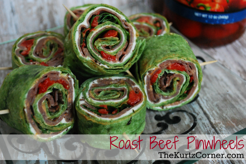 Pinwheels Tortilla Cheese Meat And
