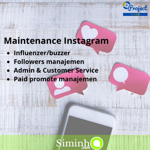 Maintenance Instagram