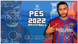 Download PES 2022 PPSSPP Unreal Engine Chelito V1.0 HD Graphics Latest Graphics & Update New Minikits