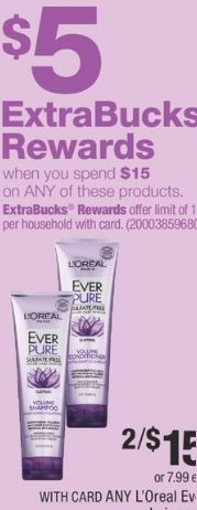 L'Oreal Ever Pure CVS Deal 915-921