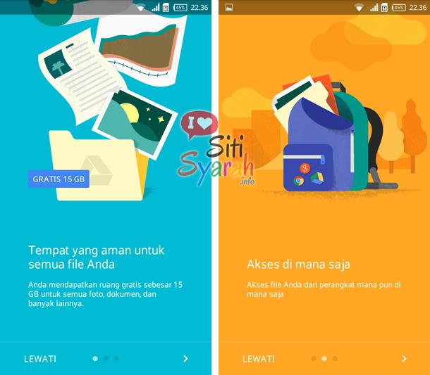 apa fungsi google drive pada android