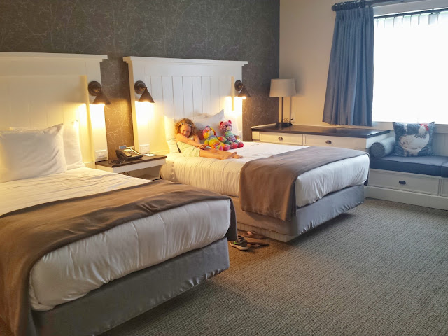 Two Double Bed Room at the Village Hotel on Biltmore Estate in Antler Village