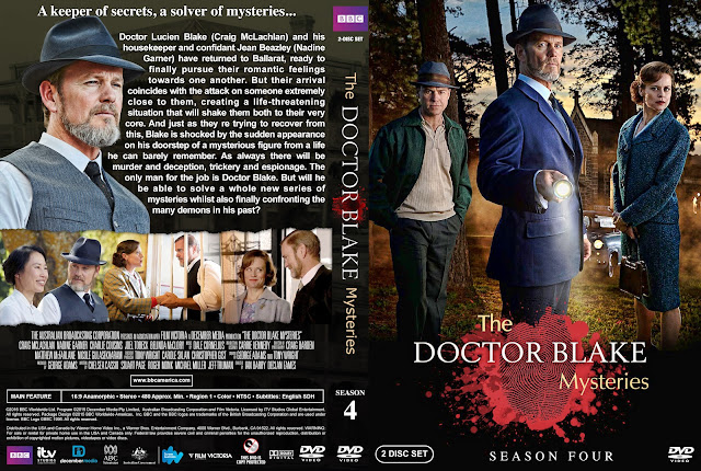 The Doctor Blake Mysteries - Season 4 DVD Cover