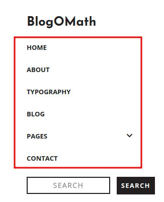 Blogomath Primary Menu