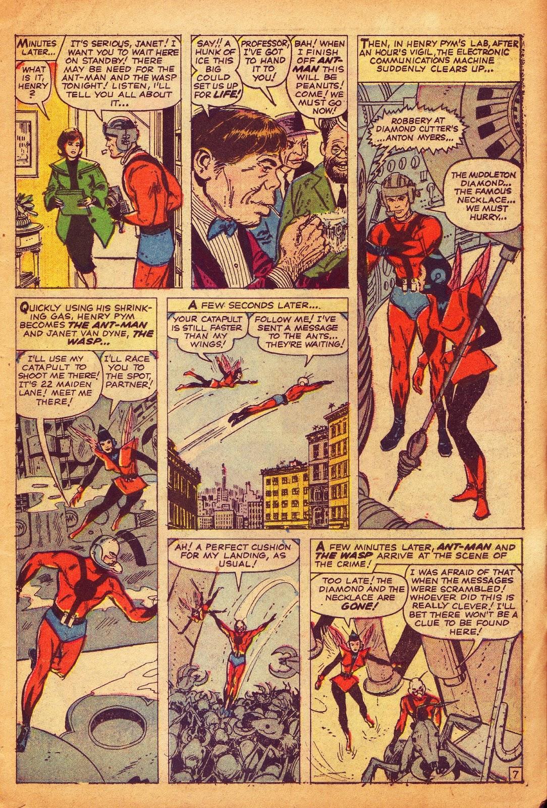 Stan Lee plot, Ernie Hart script, Don Heck art, Artie Simek letters, Stan  Goldberg colors, Tales to Astonish # 45, July 1963.