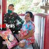 Bhabinkamtibmas Bersama Babinsa, Kelurahan Canrego Salurkan Bantuan Kepada Masyarakat Kurang Mampu