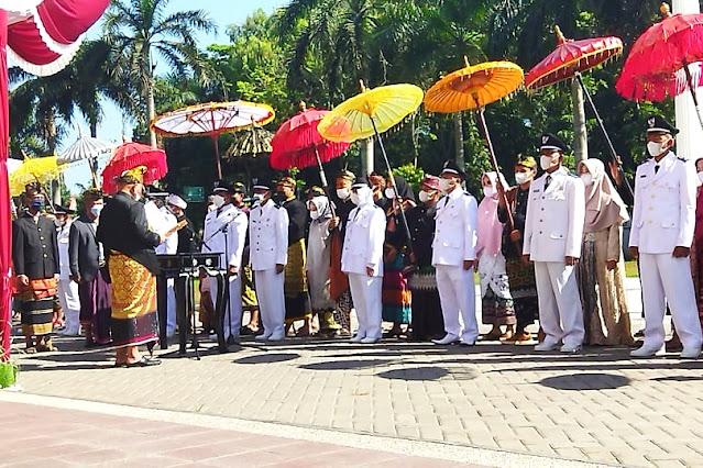 29 Kades terpilih, kado Lombok Timur di usia ke 126
