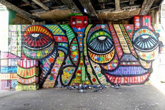 Sunday Street Art : dAcRuZ - rue Jean Jaurès - Paris 19