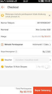 belanja online shopee bayar ditempat -bayar sekarang