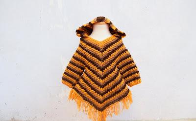 1 -Crochet Imagen Capucha para poncho de otoño a crochet por Majovel Crochet