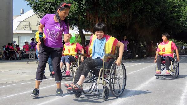 喜樂保育院身障運動會 生命不因障礙而受限
