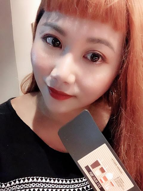 [彩妝] Etude House 現磨咖啡特調眼影盤試色