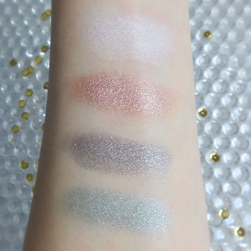 Tom Ford Soleil et Lune swatches