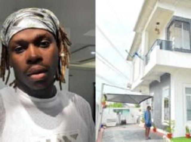 """Singer Fireboy acquires mansion in Lagos"""
