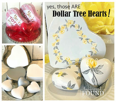 art,painting,boho style,color,color palettes,colorful home,Pantone color of the year,dollar store crafts,DIY,diy decorating,flowers,Valentine's Day,winter,hearts,painted hearts,floral hearts,Valentine Decor,winter decorating,decorating with hearts,hearts,Dollar Tree crafts,Dollar Tree hearts makeover,yellow and gray,Illuminating Yellow,Ultimate Gray,Pantone 2021,boho home