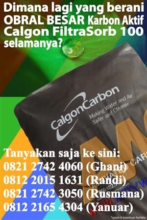 Jual Karbon Aktif Calgon Indonesia | Harga Karbon Aktif Calgon Indonesia | Beli Karbon Aktif Calgon Indonesia