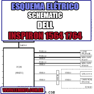 Esquema Elétrico Manual de Serviço Notebook Laptop Placa Mãe Dell Inspiron 1464 1564 1764 Schematic Service Manual Diagram Laptop Motherboard Dell Inspiron 1464 1564 1764 Esquematico Manual de Servicio Diagrama Electrico Portátil Placa Madre Dell Inspiron 1464 1564 1764