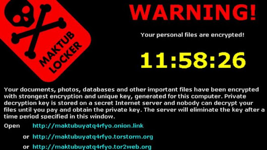 Ransomware - A serious security threat for your PC