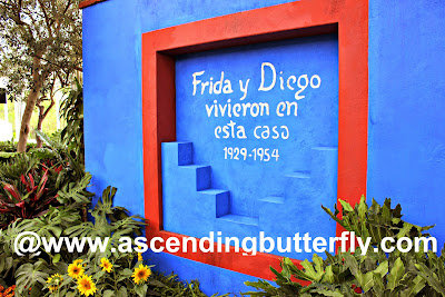 Frida and Diego lived in this house 1929-1954