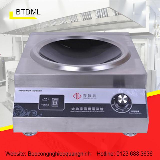 Bếp điện từ đơn mặt lõm BTDML