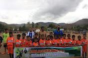 Liga Desa Berjenjang U-12 Desa Nanga Tumpu Resmi Bergulir