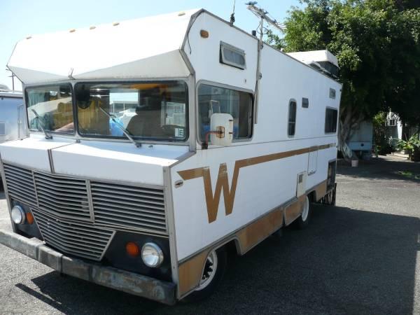 Used Rvs 1972 Winnebago Brave Motorhome For Sale By Owner