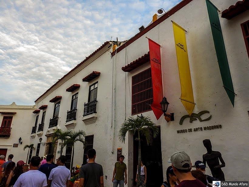 Museu de Arte Moderno - O que fazer em Cartagena, Colômbia