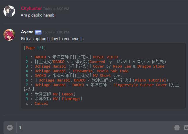 Cara Menggunakan Bot Ayana Discord Terbaru Nekopencil