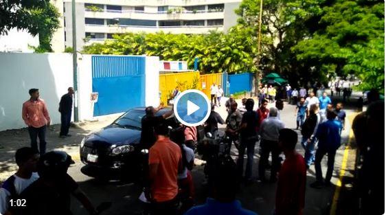 Detienen a chaburro que atropelló a manifestantes en Altamira