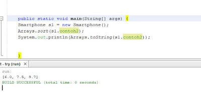 mengurutkan data dalam array java