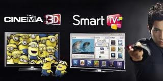 layar televisi tiga dimensi