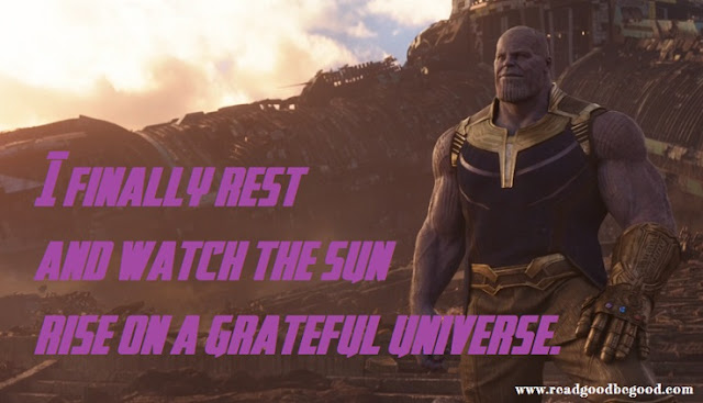 infinty war quotes