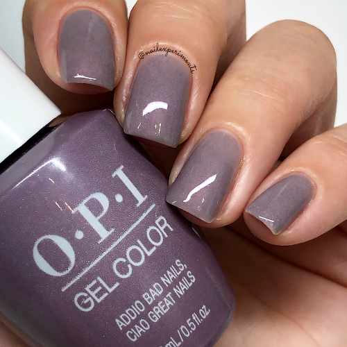 opi addio bad nails ciao great nails gel color muse of milan fall 2020