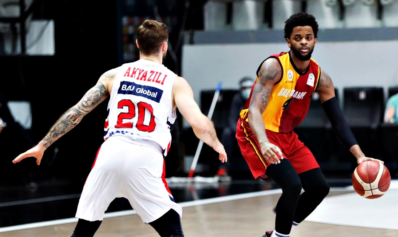 BSL   Galatasaray, Daryl Macon'un etkili oyunuyla Bahçeşehir'i yendi!